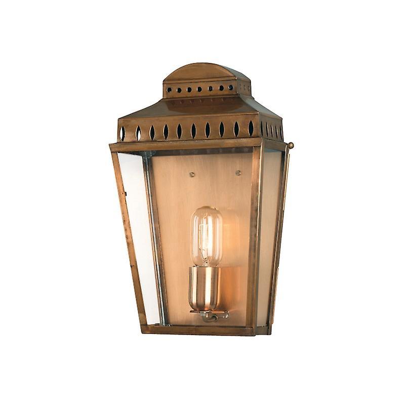 Mansion House Wall Lantern Brass
