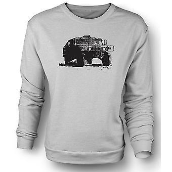 Womens Sweatshirt US Army Humvee