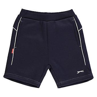 Slazenger Kids Fleece Shorts Infant Boys Warm Sports Pants Training Bottoms