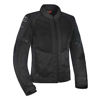 Oxford Stealth-Black Iota 1.0 Air Womens Motorcycle Waterproof Jacket