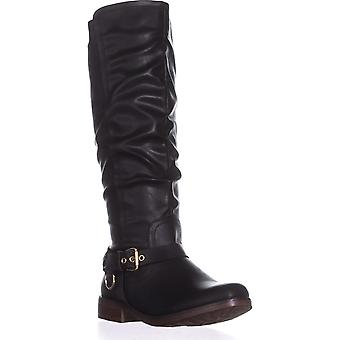 Xoxo Womens Mauricia Closed Toe Knee High Fashion Boots