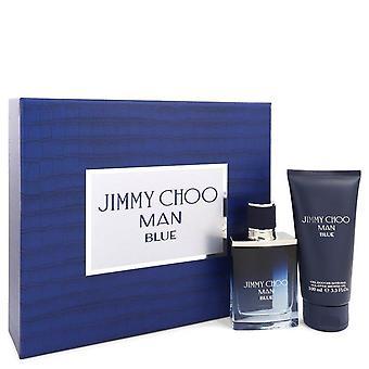 Jimmy Choo Man Blue Gift Set By Jimmy Choo