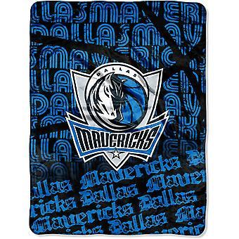 Northwest NBA Dallas Mavericks Mikro Plüschdecke 150x115cm