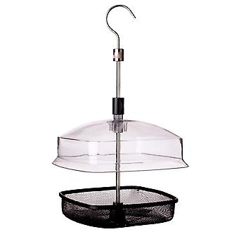 Johnston & Jeff Bird Feeder Hanging Basket With Lid