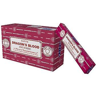 Dragons Blood Satya Incense Sticks Satya 15g Box