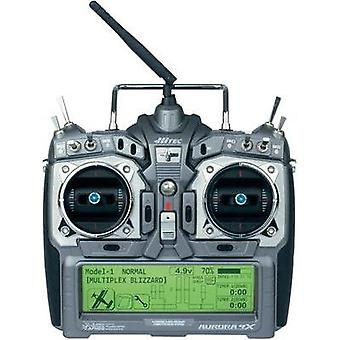 Hitec Handheld RC 2,4 GHz No. of channels: 9 Incl. receiver