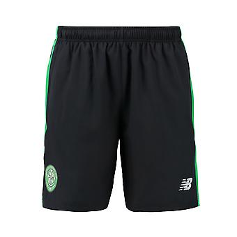 2016-2017 celta Elite tejido Shorts (negro)