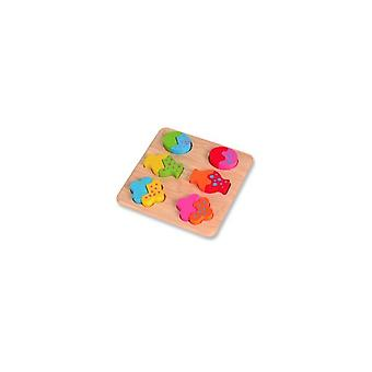 Pintoy Mix and Match Shape puzzle