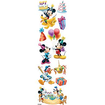 Disney Slims Dimensional Stickers-Mickey Mouse Birthday E5140022
