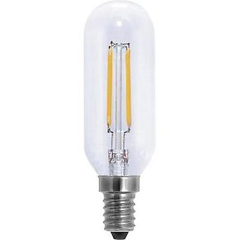 LED (monochrome) Segula 230 V E14 4 W = 30 W Warm white EEC: A+ Rod (Ø x L) 32 mm x 105 mm Filament, dimmable 1 pc(s)