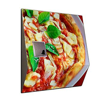 Wireless pizza Italy stainless steel Bell chime front Bell