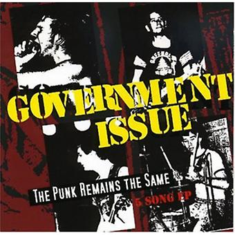 The Punk Remains The Same by Government Issue