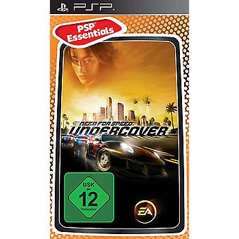 Need for Speed Undercover Essentials Edition PSP spill