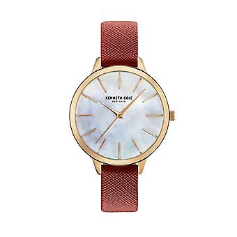 Kenneth Cole New York Damen Uhr Armbanduhr Leder KC15056004
