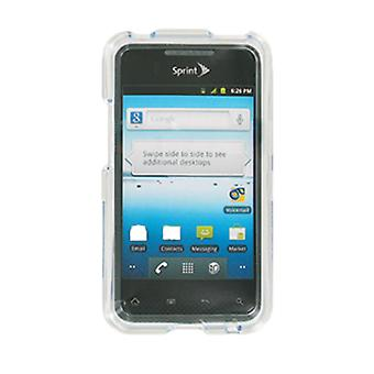 Sprint Clear Hard Case Cover for LG Optimus Elite LS696