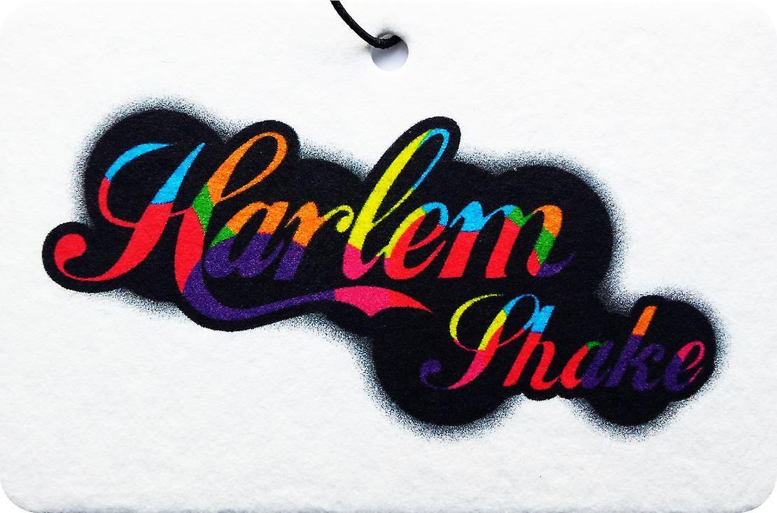 Harlem Shake Psychedelic Car Air Freshener