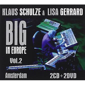 Schulze, Klaus/Gerrar, Lisa - Big in Europe 2: Amsterdam [CD] USA import