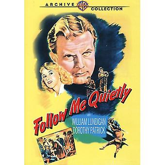 Follow Me Quietly [DVD] USA import