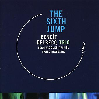 Benoit Delbecq Trio - sjette hoppe [CD] USA importerer