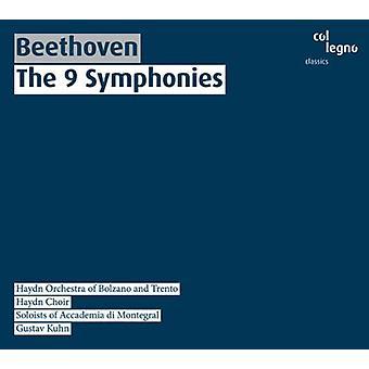 Larsen Beethoven - Beethoven: The 9 symfonier [CD] USA import