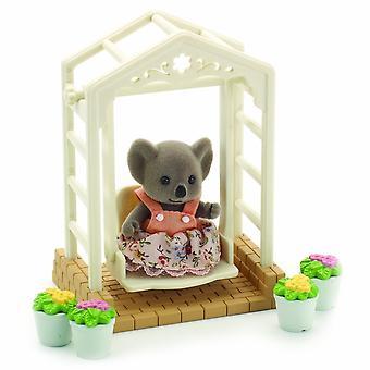 Figures - Sylvanian Families - Garden Swing - 045343 - Epoch