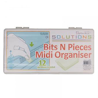 DoCrafts Solutions Bits N Pieces Midi Organiser***