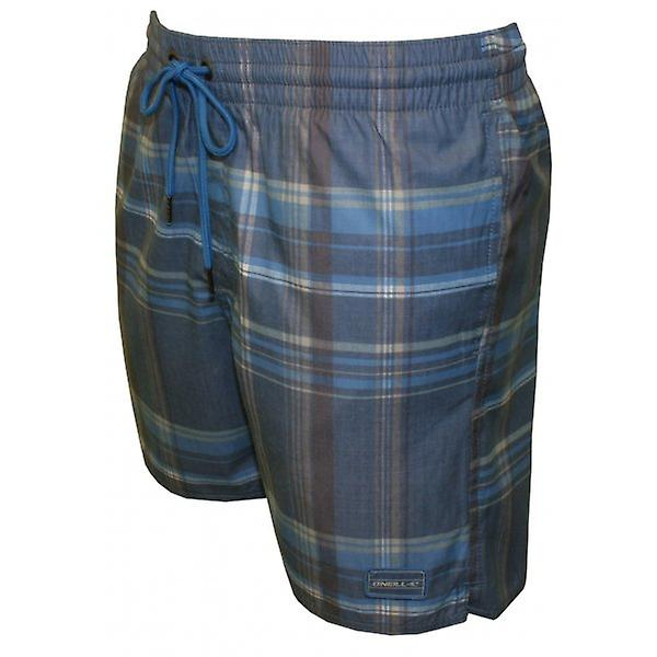 O'Neill PM Triumph Checked Swim Shorts, Blue