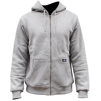 Dickies Kingsley Zip Up Hoodie Grey Melange