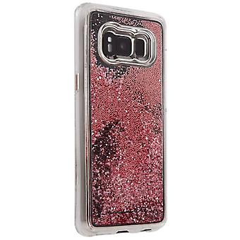 Case-Mate nue cascade dur Samsung Galaxy S8 Plus Phone Case - or Rose