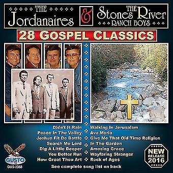 Jordanaires / Stones River Ranch drenge - 28 evangeliet Classics [CD] USA import