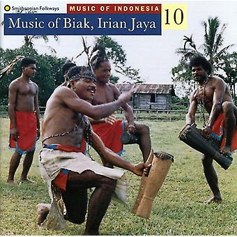 Music of Indonesia 10 - Music of Biak Iraian Jaya-Wor [CD] USA import