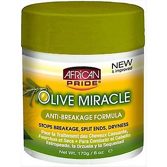 African Pride Olive Miracle Anti Breakage 170g