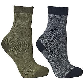Trespass Youths Boys Dipping Walking Socks (2 Pair Pack)
