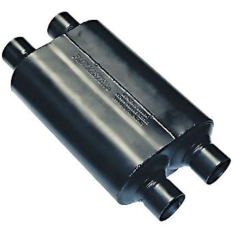 Flowmaster 9525454 Super 40 Muffler - 2.50  Dual IN / 2.50 Dual OUT - Aggressive Sound
