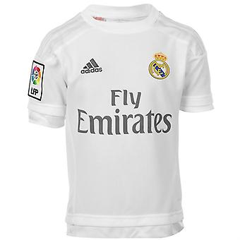 2015-2016 real Madrid Adidas hemma Shirt (barn)