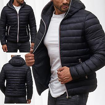 Giacca di transizione Quilted Jacket uomo dello sport giacca a vento giacca full Zip Jacket