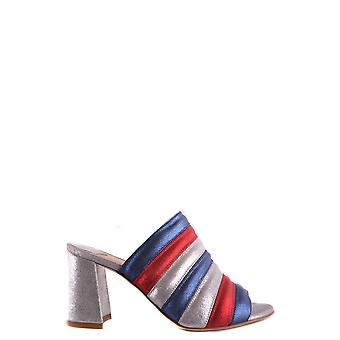 Polly plume ladies HOLLYSILVER multicolour leather sandals