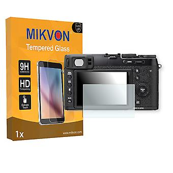 Fujifilm X100T Screen Protector - Mikvon flexible Tempered Glass 9H (Retail Package with accessories)