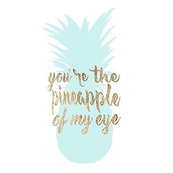 Pineapple Life II Poster Print by Studio W (13 x 19)