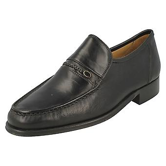 Mens Thomas Blunt Smart Slip On Shoes Amos