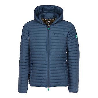 Save the duck men's D3712MRECY600722 Blau polyamide Quilted Jacket