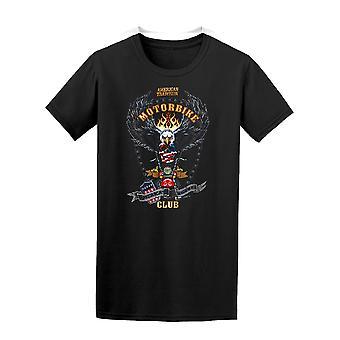 Vintage America Motorbike Club Tee Men's -Image by Shutterstock