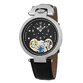 Burgmeister BM241-122 Bakersfield, Gents watch, Analogue display, Quartz with Swiss Ronda Movement - Water resistant, Stylish leather strap, Classic men's watch