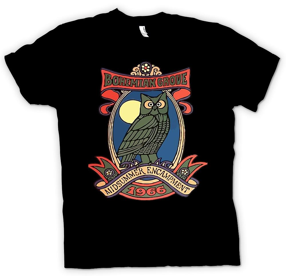 Mens t-shirt - Bohemian Grove - N W O
