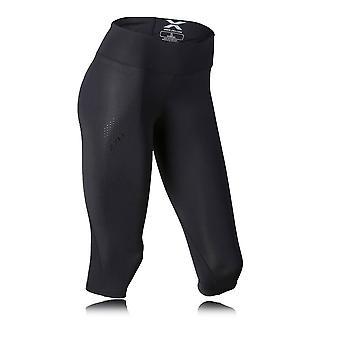 2XU Mid Rise Women's Capri Compression Running Tights - SS19