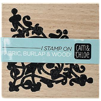Cam & Chloe Mounted Stamp 2.5