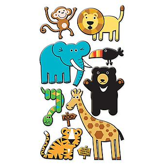 Sticko Stickers-Zoo