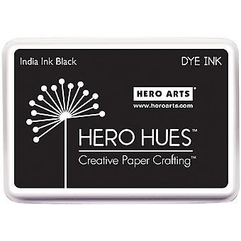 Hero Hues Dye Ink Pad-India Ink Black