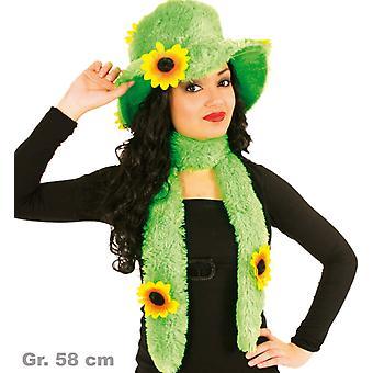 Hippiehut Hippieschal Flower Power Hippie