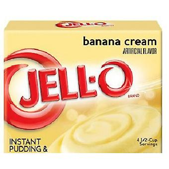 Jell-O Banana Cream Instant Pudding Dessert Mix 5.1 oz Box